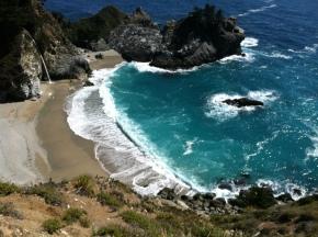 Light Blue Coastline